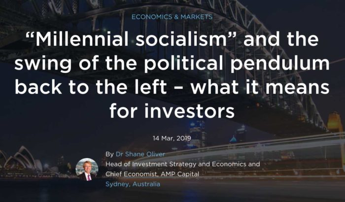 """Millennial socialism"""" and the swing of the political"""